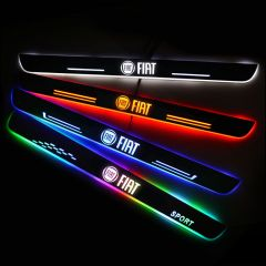 Fiat Compatible Enhanced Car Led Door Sill Protector