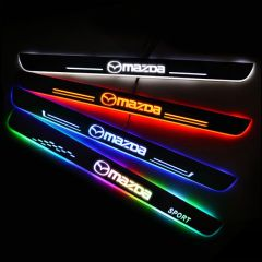 MAZDA Compatible LED Car Door Sill Welcome Pedal