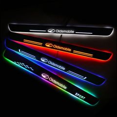 Oldsmobile Compatible Enhanced Car Led Door Sill Protector
