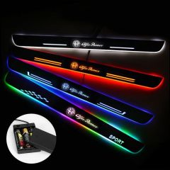 Alfa Romeo Compatible Batteries Powered Lighted Door Sill