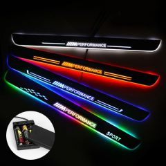 BMW Compatible Batteries Powered LED Door Sill Guard