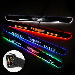 Chrysler Compatible Batteries Powered Illuminated Door Sills Trim