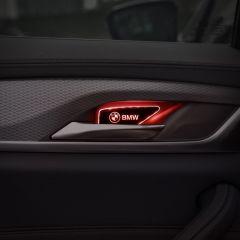 BMW Compatible Car Door Handle Bowl Luminescent Trim Light
