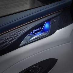 Buick Compatible Inner Door Handle Bowl Cover Decoration Light