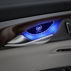Cadillac Compatible LED Car Door Handle Bowl Decorative light