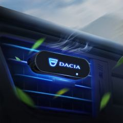 Dacia Compatible Car Interior LED Air Vent Freshener Diffuser
