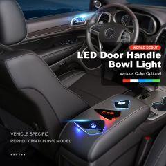 Custom Car LED Door Handle Bowl Cover Inner Atmosphere Light