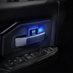 Dodge Compatible LED Car Door Handle Bowl Decorative light