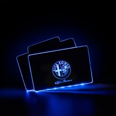 Alfa Romeo Compatible Vehicle Illuminated Floor Mat