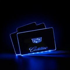 Cadillac Compatible AUTO LED Floor Mats Illuminated Pedal