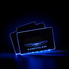 Chrysler Compatible Vehicle Illuminated Floor Mat