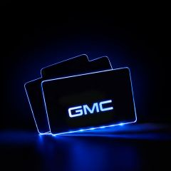 GMC Compatible Illuminated LOGO LED Automobile Floor Mat