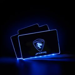 Proton Compatible RF Remote Control Car LOGO LED Floor Mat