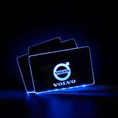VOLVO Compatible Vehicle Illuminated Floor Mat