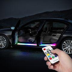 Automotive Exterior Atmosphere Light | Car Door Frame Decorative Light Bars