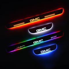 GMC SIERRA 1500 Pickup 2013-2022 LED Door Sill Plate