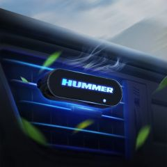 HUMMER Compatible Car Illuminated Aromatherapy Diffuser Air Freshener