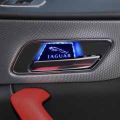 Jaguar Compatible LED Door Handle Bowl Decoration Ambient Light
