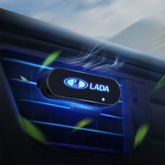 LADA Compatible Car Interior LED Air Vent Freshener Diffuser