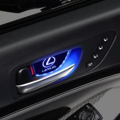 Lexus Compatible LED Car Door Handle Bowl Decorative light