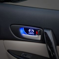 MAZDA Compatible Car Door Handle Bowl Luminescent Trim Light