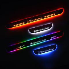 Mercedes-Benz C-CLASS (W204) 2016-2022 LED Door Sill Plate