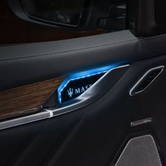 Maserati Compatible Acrylic Inner Door Handle Bowl LED Atmosphere Light