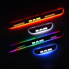Dodge RAM 1500 Pickup 2001-2008 LED Door Sill Plate