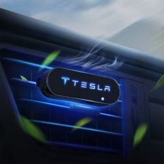 Tesla Compatible Car Luminous Scented diffuser Aroma Fresh Air