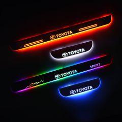 TOYOTA RAV4 Compatible LED Door Sill Protectors