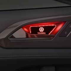 Volkswagen Compatible LED Car Door Handle Bowl Armrest Light