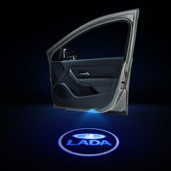 Lada Compatible Door LOGO Welcome Lights