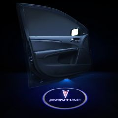 PONTIAC Compatible Door LOGO Welcome Lights