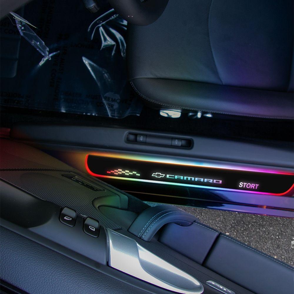 Chevy CAMARO 2009-2022 LED Door Sill Guard - 2PCS