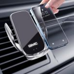 GMC Compatible Wireless Fast Charging Auto-Clamping Car Phone Holder