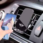 Mini Compatible Wireless Fast Charging Auto-Clamping Car Phone Holder