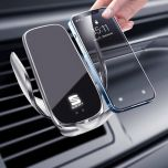 Seat Compatible Wireless Charger Auto-Clamping Phone Holder