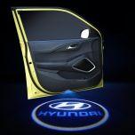 Hyundai Compatible Car Door LED LOGO Projector Light 2 PCS
