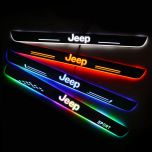JEEP Compatible Car Customized Illuminated Door Sills