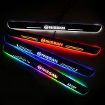 Nissan Compatible Customized Luminous Door Sills Guards