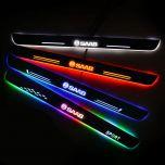 SAAB Compatible Customized Luminous Door Sill Pan