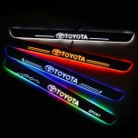 Toyota Compatible Illuminated Door Sills For Car Light Modification