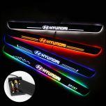 Hyundai Compatible Battery Powered LED Door Sills