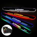 Mitsubishi Compatible Batteries Powered Lighted Door Sills Plate