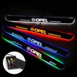 OPEL Compatible Battery Powered LED Door Sill Protectors