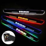 Suzuki Compatible Batteries Powered LED Door Sills Trim Plates