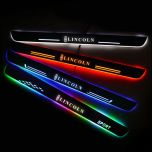 Lincoln Compatible Enhanced Car Led Door Sill Protector