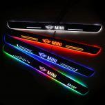 Mini Compatible Enhanced Car LED Door Sill Protector