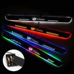 Cadillac Compatible Batteries Powered Illuminated Door Sill Exterior