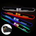 Fiat Compatible Batteries Powered Illuminated Door Sill Exterior